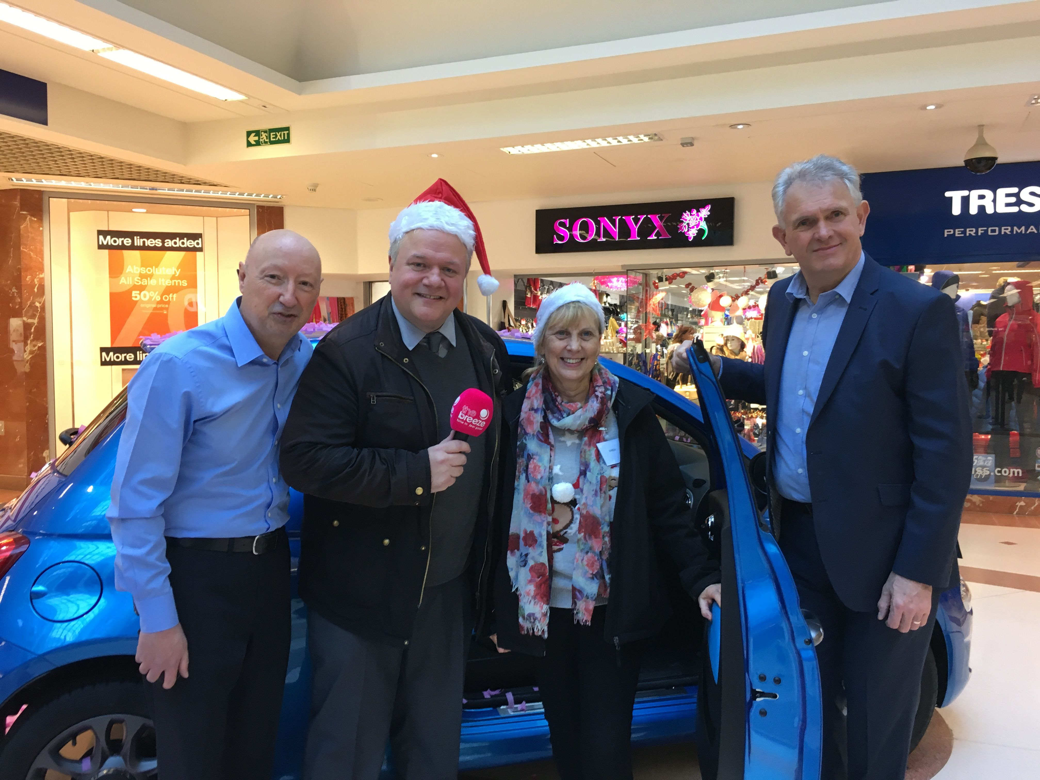 Win a Car for Christmas winner