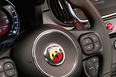 Abarth 595 Turismo - Leather Abarth Sports Seats